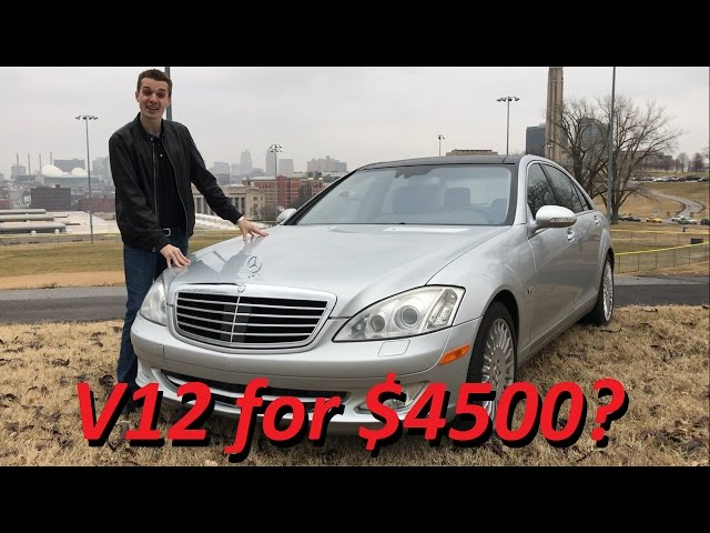 I Bought a Broken Mercedes S600 V12 for $4500.... 1 Year Update!