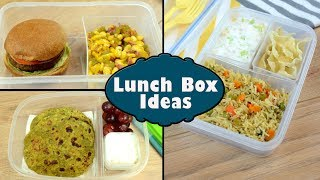 Indian Lunch Box Ideas - Part 3 | Kids Lunch Box Recipes | Quick Lunch Box