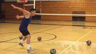 Improve Spiking TIMING (part 1/2) - How to SPIKE a Volleyball Tutorial