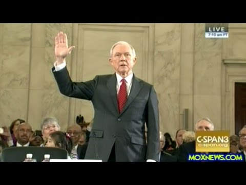 Jeff Sessions FULL Opening Statement Interrupted By Protesters At 04 49