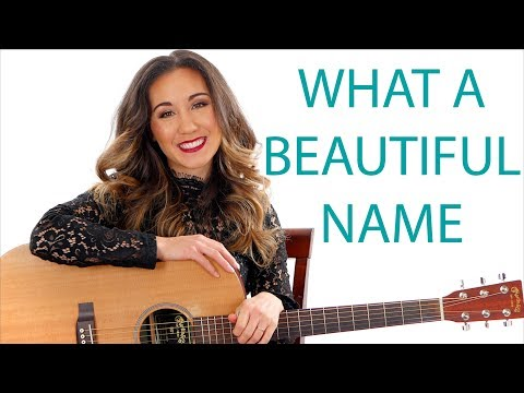 Xxx Mp4 What A Beautiful Name Hillsong Guitar Tutorial And Play Along 3gp Sex