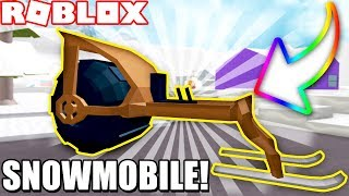 BRAND NEW SNOWMOBILE in SNOW SHOVELING SIMULATOR! *NEW VEHICLE*