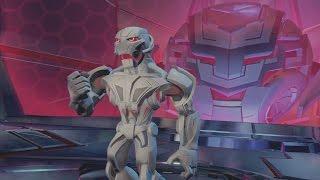 Disney Infinity 3.0 Gameplay Ending - Ultron Boss Fight - Marvel Battlegrounds Playset