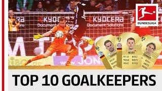 EA SPORTS FIFA 18 - Top 10 Goalkeepers: Neuer, Bürki & Co.