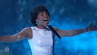 America's Got Talent 2016 Jayna Brown Outstanding 14 Y.O. Singer Live Shows Round 1 S11E12