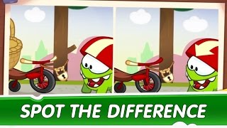 Spot the Difference Ep. 11 - Om Nom Stories: Cycle Race