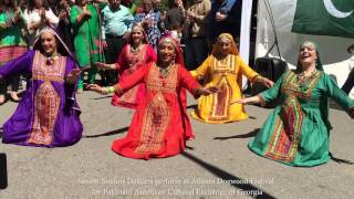 Balochi Dance Performance by Sanam Studios at Atlanta Dogwood Festival 2016