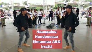 Haacaaluu hundeessaa oromo music on stage simannaa ABO irratti sep 15/2018