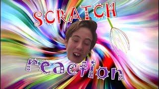 Slo Mo Scratch Reaction