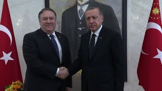 Pompeo meets Erdogan as Saudi faces new claims over Khashoggi