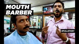 Mouth Barber - जुबान से तेज कैंची - OMG! Yeh Mera India - HISTORY TV18