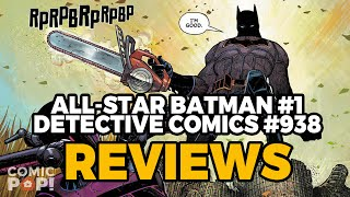 ALL STAR BATMAN & DETECTIVE #938 PLUS THIS WEEK'S COMICS | Off the Rack