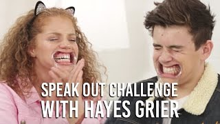 Hayes Grier Speak Out Challenge | Music Monday with Mahogany LOX
