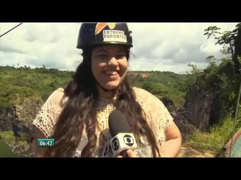 Reportagem para o Bom Dia Pernambuco Lagoa Azul