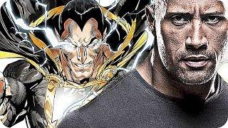 """SHAZAM Movie Preview: Black Adam Explained (2019) Dwayne """"The Rock"""" Johnson as DC Supervillain"""