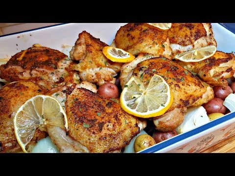Baked Lemon Garlic Chicken Recipe Lemon Garlic Cream Sauce Recipe