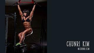 Chunri Kim - Shredded Korean female bodybuilder