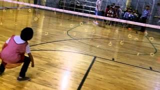 2012 한글학교 가을 체육대회 - 어린이반 양파링 따먹기
