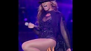 Crazed Fan slaps Beyonce on her ass