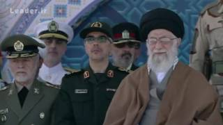 مراسم دانشآموختگی و میثاق پاسداری سال  96 - دانشگاه افسری امام حسین (ع)