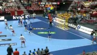 Vm håndbold: Danmark - Rumænien