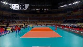 CUB vs BRA 2017 FIVB Men