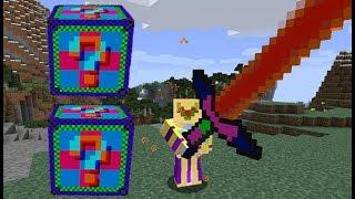 Minecraft Lucky Block MOD ENDER ŞANS BLOKLARI