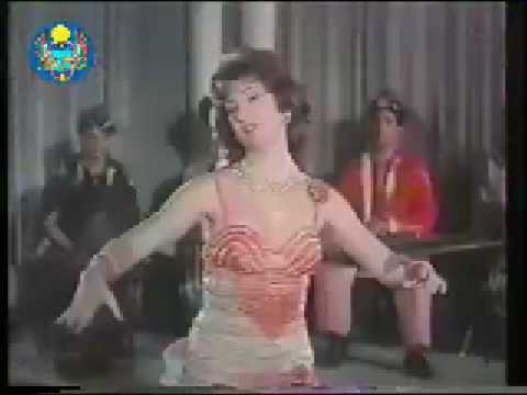 Hoda Shams El Din A Dancer in Egyptian Film رقص شرقي هدى شمس الدين