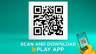 Download the Official bPlay app NOW! #QRCode