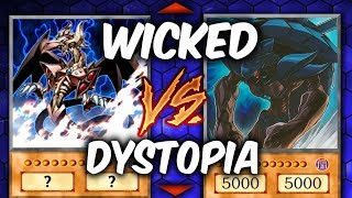 WICKED GODS vs DYSTOPIA (Yu-gi-oh God Card Deck Duel!)