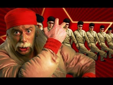 Hulk Hogan and Macho Man VS Kim Jong il Epic Rap Battles of History 5