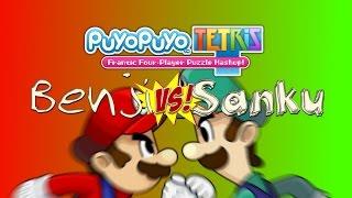 Benji -VS- Sanku: Puyo Puyo Tetris - Ab in die 2. Runde!