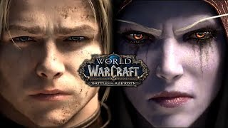 World of Warcraft: Battle for Azeroth - All Cinematics in Chronological Order (AT LAUNCH)
