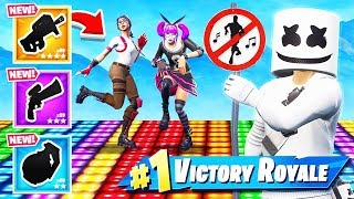 REACTIVE Marshmello SKIN Dance OFF *NEW* Game Mode in Fortnite Battle Royale
