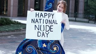 People's reaction to a stranger in a nude suit might surprise you