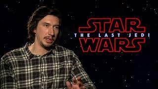 Star Wars: The Last Jedi || Adam Driver Junket Interview || SocialNews.XYZ