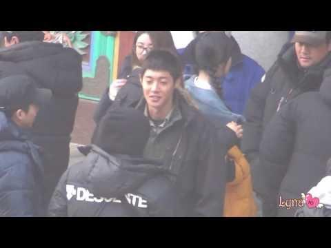 20140224  Kim HyunJoong fancam @ 감격시대- 봉원사