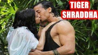 Tiger Shroff Shraddha Kapoor Liplock Kiss In Baaghi