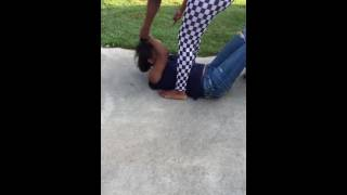 Girl Tries To Fight Her BOYFRIEND'S COUSIN . . . She Gets A BRUTAL BEATING
