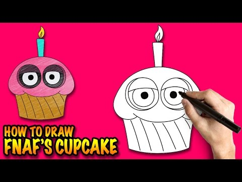 Xxx Mp4 How To Draw The Cupcake From FNAF Easy Step By Step Drawing Lessons 3gp Sex