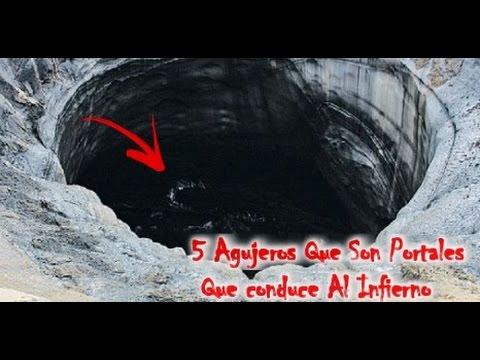 5 agujeros que son portales que conducen  al Infierno | Mundo Del Terror