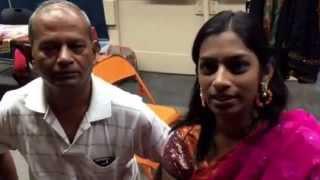 Varsha and Padmanabhan from LA on YGM's Paritchaiku Neramachu