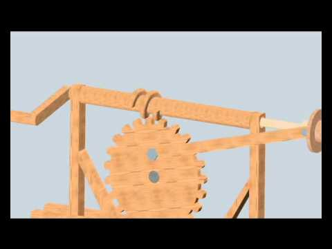 Tornillos Sin Fin Máquinas de Leonardo Da Vinci