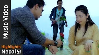 Hawako Lahar Sangai by Keshav Thapa, Tika Pun Ft. Bishal | New Nepali Lok Dohori Song 2017/2074