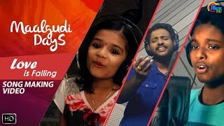Maalgudi Days | Love Is Falling |Song Making Video Ft Najim Arshad, Sreya Jayadeep,Gawreesh|Official