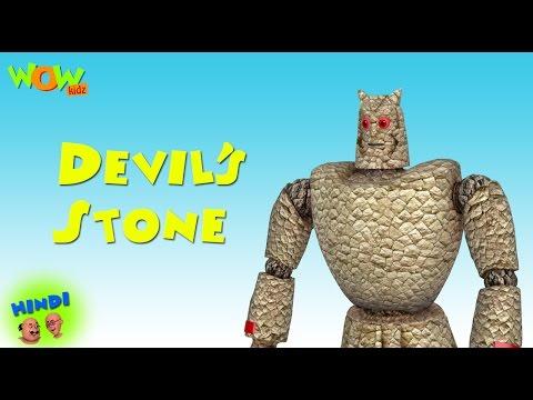 Devil's Stone - Motu Patlu in Hindi - ENGLISH SUBTITLES!