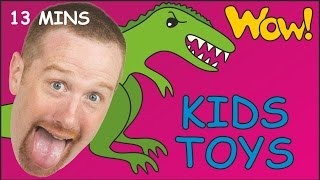 Kids Toys Karate + MORE | English for Children | Short Stories for Kids from Steve and Maggie