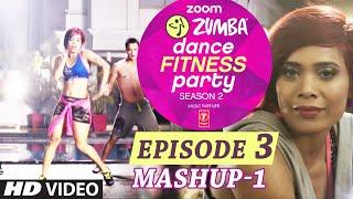 Zoom Zumba Dance Fitness Party Music Video 1 | Mash Up | Pallavi Sharda, Kainaat Arora, Sucheta Pal