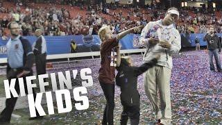 Watch Lane Kiffin celebrate Alabama