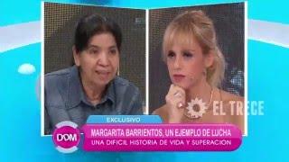 Margarita Barrientos cuenta por qué da de comer a los más necesitados